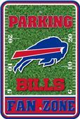NFL Buffalo Bills Plastic Parking Sign