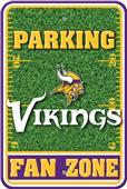 NFL Minnesota Vikings Plastic Parking Sign