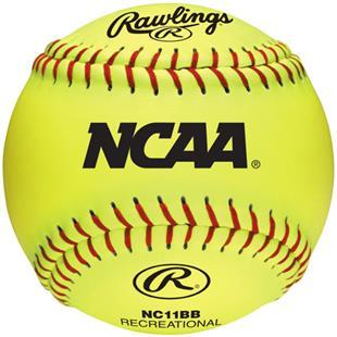 "Rawlings 11"" NCAA Outdoor Training Softballs"