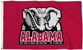 Collegiate Alabama 3'x5' Flag w/Grommets