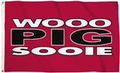 Collegiate Arkansas 3'x5' Flag w/Grommets