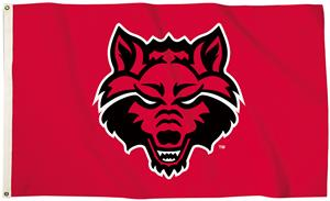 Collegiate Arkansas State 3'x5' Flag w/Grommets