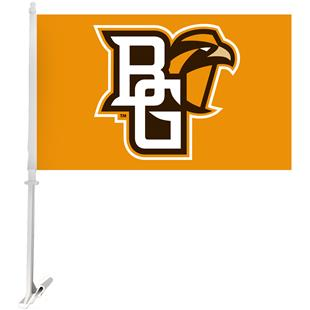 Collegiate Bowling Green 2-Sided 11x18 Car Flag