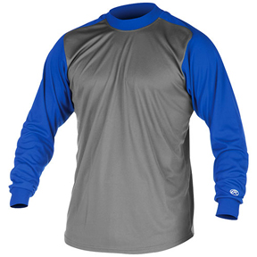 Rawlings Youth Microfiber Mock Turtleneck Shirts