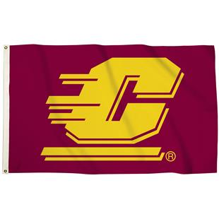 Collegiate Central Michigan 3'x5' Flag w/Grommets