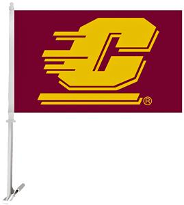 Collegiate Central Michigan 2-Sided 11x18 Car Flag