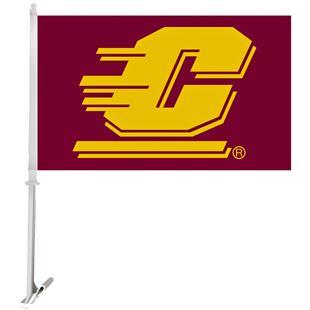 Collegiate Central Michigan 2-Sided 11x18 Car Flag
