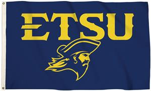 Collegiate East Tennessee St 3'x5' Flag w/Grommets