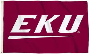 Collegiate Eastern Kentucky 3'x5' Flag w/Grommets