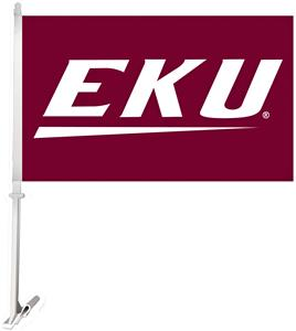 Collegiate Eastern Kentucky 2-Sided 11x18 Car Flag