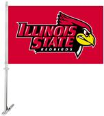 Collegiate Illinois State 2-Sided 11x18 Car Flag