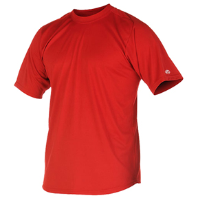 Rawlings Youth Microfiber Short Sleeve Shirts
