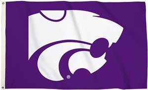 Collegiate Kansas State 3'x5' Flag w/Grommets
