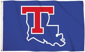 Collegiate LA Tech Blue 3'x5' Flag w/Grommets