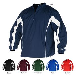 "Rawlings ""Team"" Pullover Baseball Jackets"