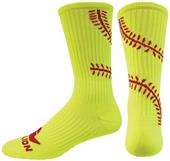 Red Lion Pitch Crew Socks - Closeout