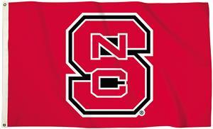 Collegiate N. Carolina State 3'x5' Flag w/Grommets