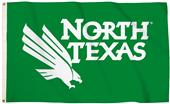 Collegiate North Texas 3'x5' Flag w/Grommets