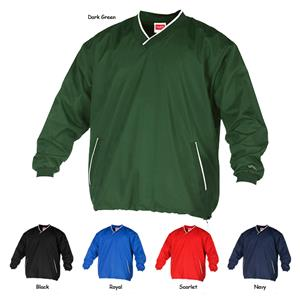 Rawlings V-Neck Pullover Jacket-Youth