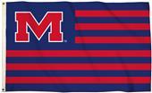 Collegiate Mississippi 3'x5' Flag w/Grommets