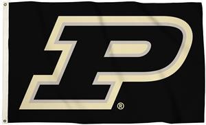 Collegiate Purdue 3'x5' Flag w/Grommets