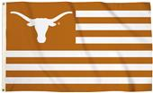 Collegiate Texas Stripes 3'x5' Flag w/Grommets