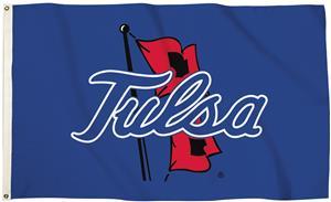 Collegiate Tulsa 3'x5' Flag w/Grommets