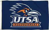 Collegiate UTSA Logo 3'x5' Flag w/Grommets