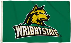 Collegiate Wright State 3'x5' Flag w/Grommet