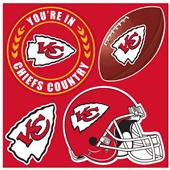 NFL Kansas City Chiefs 4 Piece Magnet Set