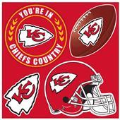 NFL Kansas City Chiefs 4 Piece Magnet Set