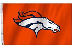 NFL Denver Broncos 3'x5' Flag w/Grommet