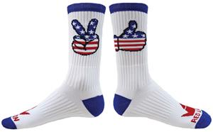 Red Lion Heroic Crew Socks - Closeout
