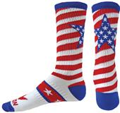 Red Lion Big Star Crew Socks - Closeout