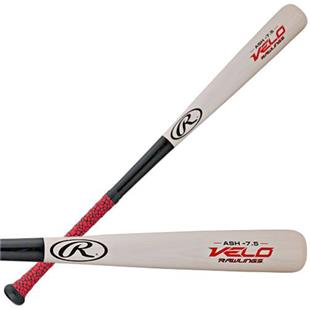 Rawlings VELO Ash Wood Youth Baseball Bat (-7.5)