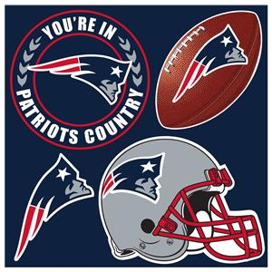NFL New England Patriots 4 Piece Magnet Set