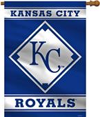 "MLB Kansas City Royals 28"" x 40"" House Banner"