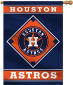 "MLB Houston Astros 28"" x 40"" House Banner"