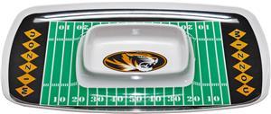 Collegiate Missouri Tigers Chip & Dip Tray