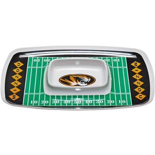 Collegiate Missouri Tigers Chip & Dip Tray
