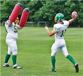Fisher Football Training Arm Shield (pair)