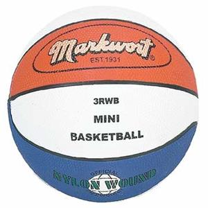 Markwort Mini Size 3 Rubber Basketballs