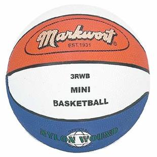 Markwort Kids Youth Size 3 Rubber Basketball