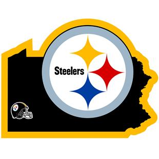 NFL Pittsburgh Steelers Home State Decal