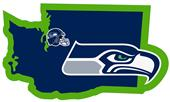 NFL Seattle Seahawks Home State Decal