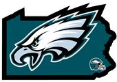 NFL Philadelphia Eagles Home State Decal