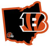NFL Cincinnati Bengals Home State Decal