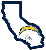 NFL San Diego Chargers Home State Decal