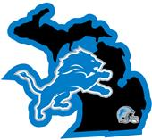 NFL Detroit Lions Home State Decal