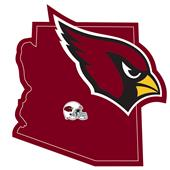 NFL Arizona Cardinals Home State Decal